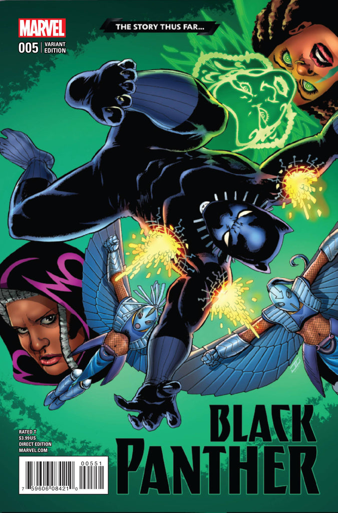 BLACK PANTHER #5 CASSADAY STORY THUS FAR VAR COVER