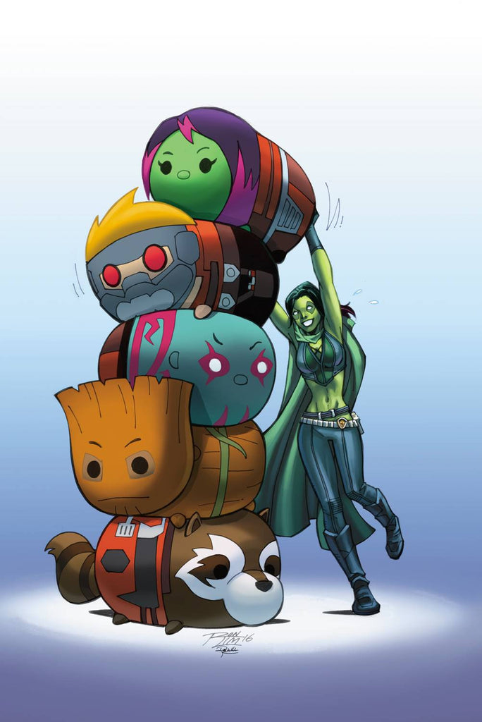 GUARDIANS OF GALAXY #11 TSUM TSUM TAKEOVER VAR CW2 COVER