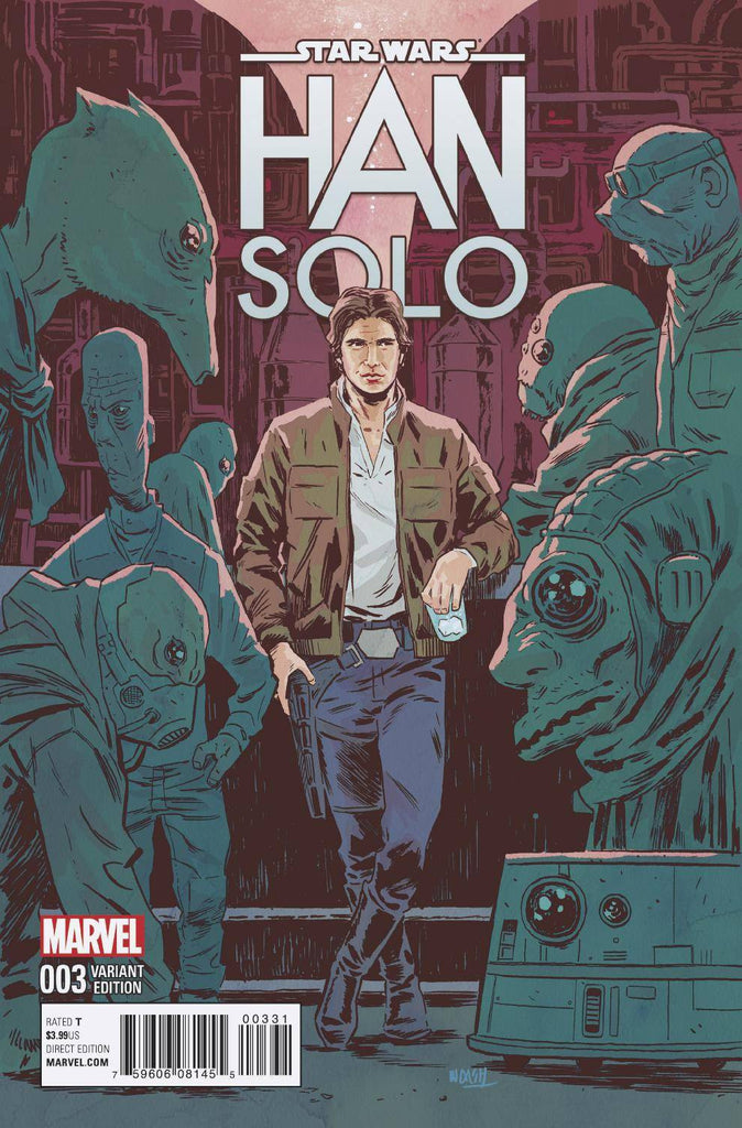 STAR WARS HAN SOLO #3 (OF 5) WALSH VAR COVER