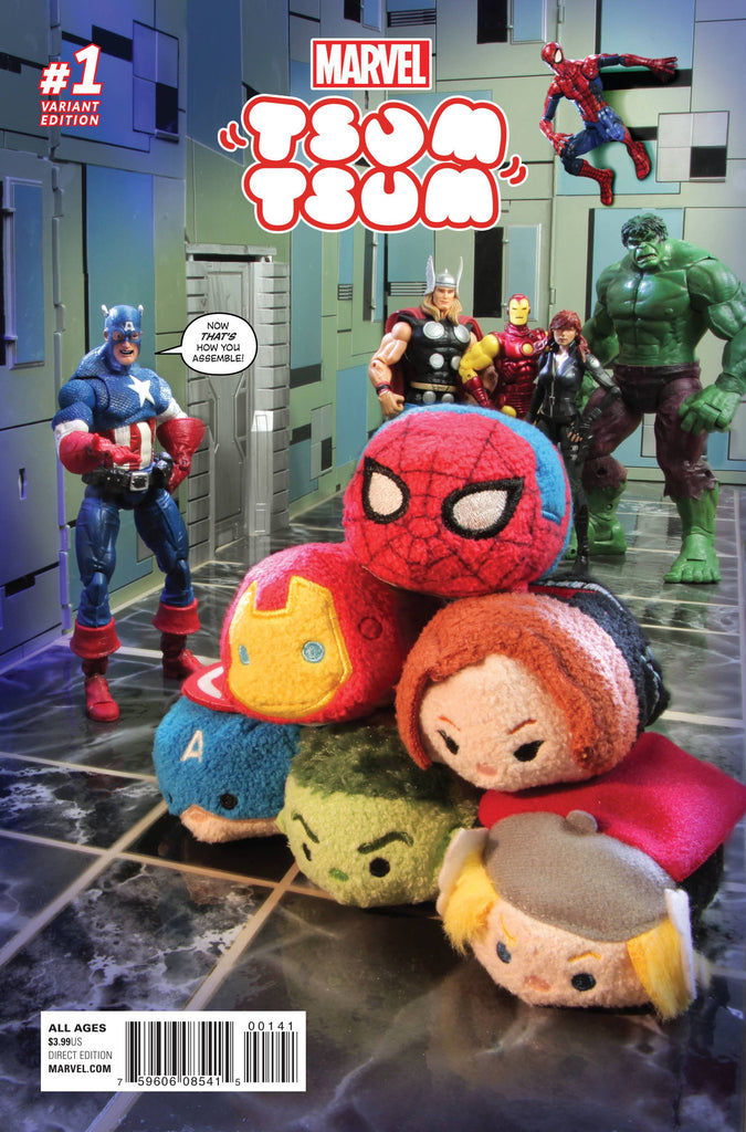 MARVEL TSUM TSUM #1 (OF 4) PHOTO VAR COVER
