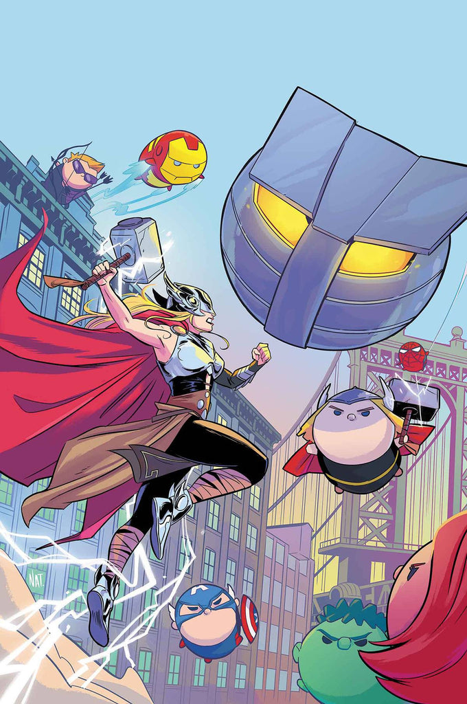 MIGHTY THOR #10 BUSTOS TSUM TSUM VAR COVER