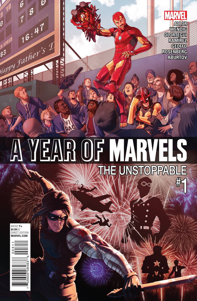 A YEAR OF MARVELS UNSTOPPABLE #1 COVER