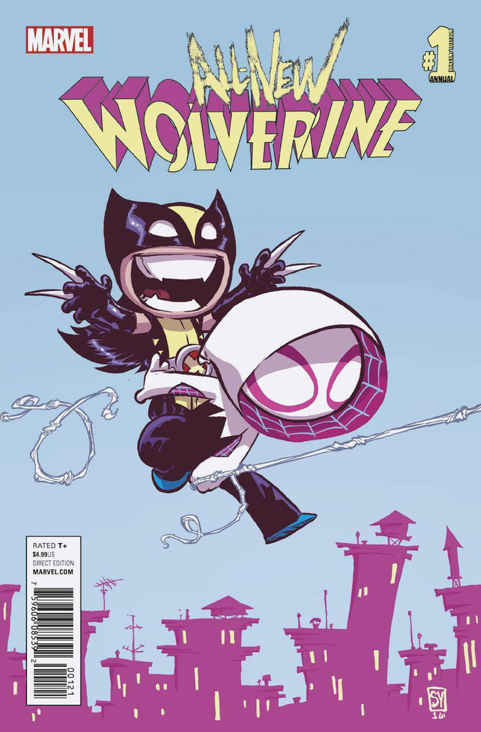 ALL NEW WOLVERINE ANNUAL #1 YOUNG VAR COVER