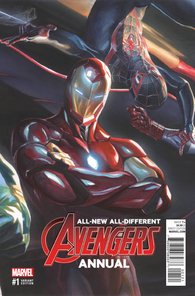 ALL NEW ALL DIFFERENT AVENGERS ANNUAL #1 ROSS VAR COVER