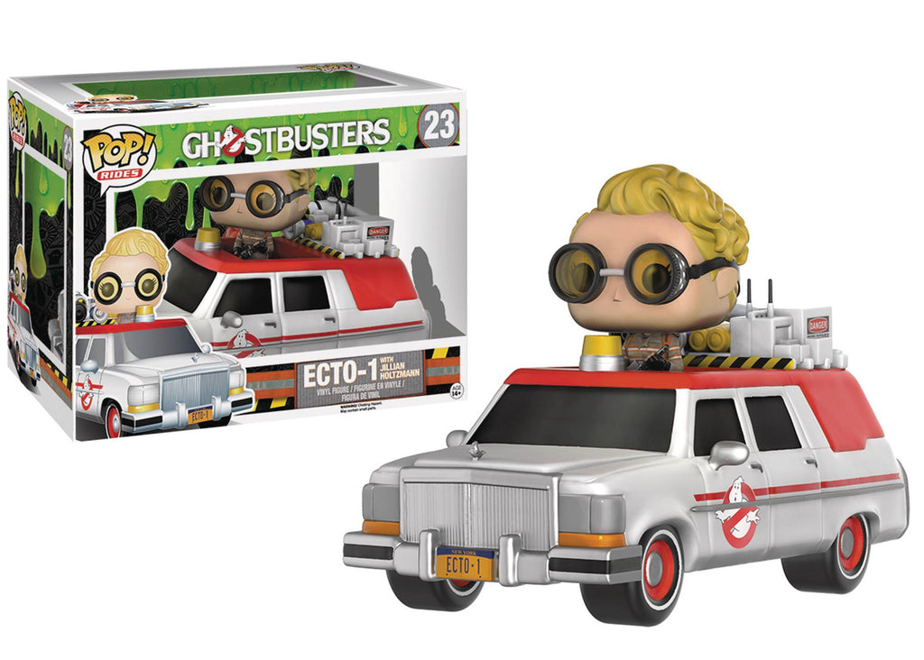 POP GHOSTBUSTERS 2016 ECTO 1 VIN FIG