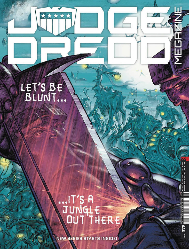 JUDGE DREDD MEGAZINE #376 COVER