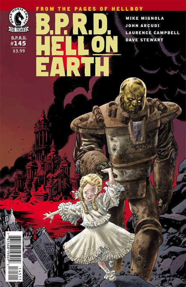 BPRD HELL ON EARTH #145 COVER