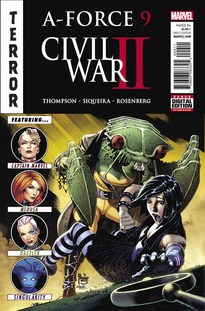 A-FORCE #9 CW2 COVER