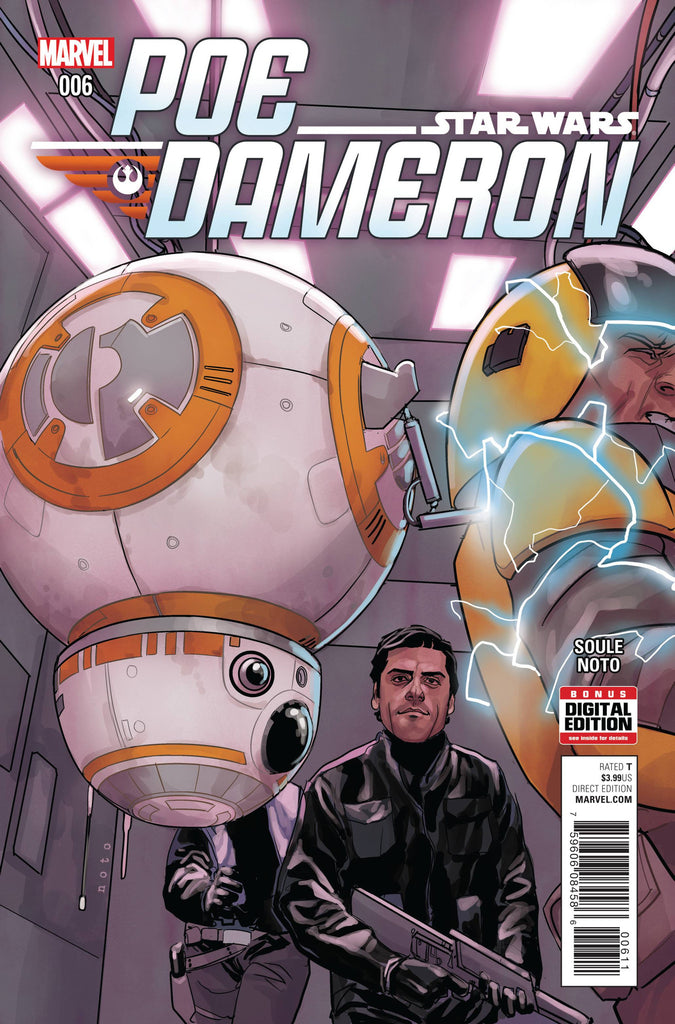 STAR WARS POE DAMERON #6 COVER
