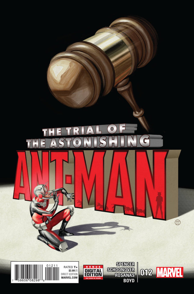 ASTONISHING ANT-MAN #12 COVER