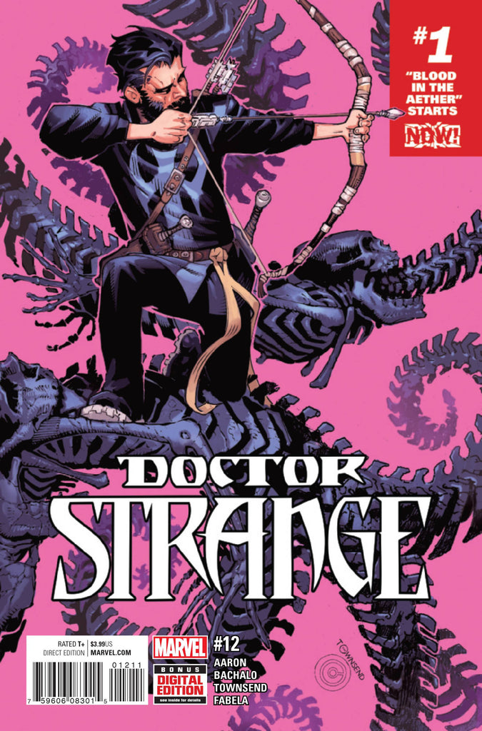 DOCTOR STRANGE #12 NOW (RES) COVER