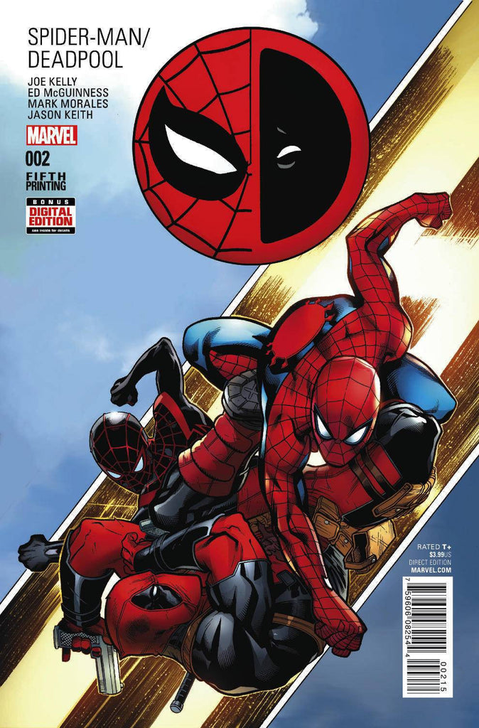 SPIDER-MAN DEADPOOL #2 MCGUINNESS 5TH PTG VAR COVER