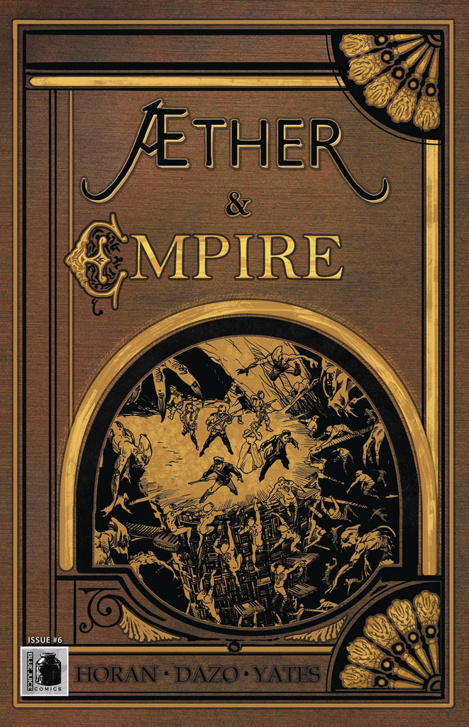 AETHER AND EMPIRE #6 COVER