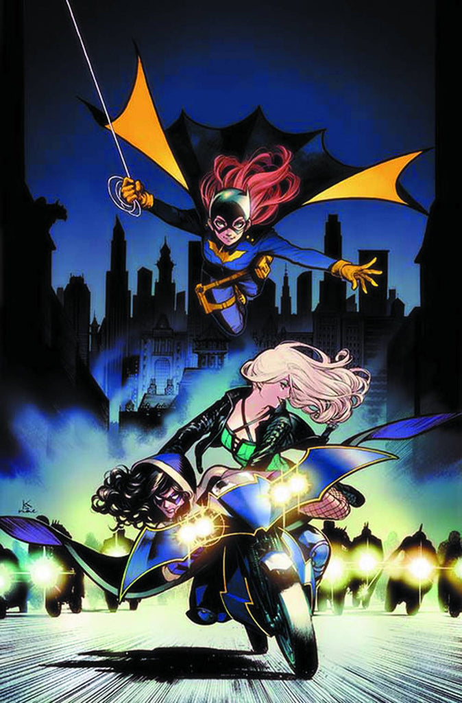 BATGIRL AND THE BIRDS OF PREY #2 VARIANT EDITION COVER