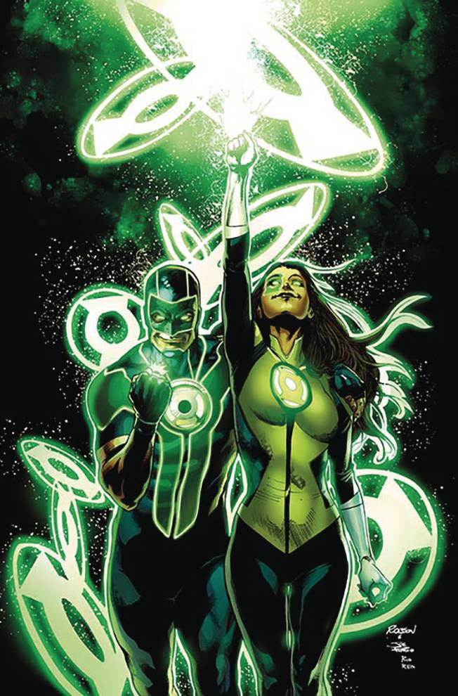 GREEN LANTERNS #7 COVER