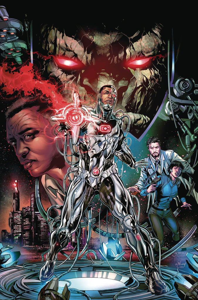CYBORG #1 COVER