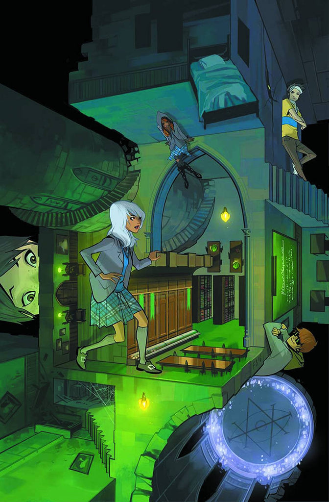 GOTHAM ACADEMY SECOND SEMESTER #1 VARIANT EDITION COVER