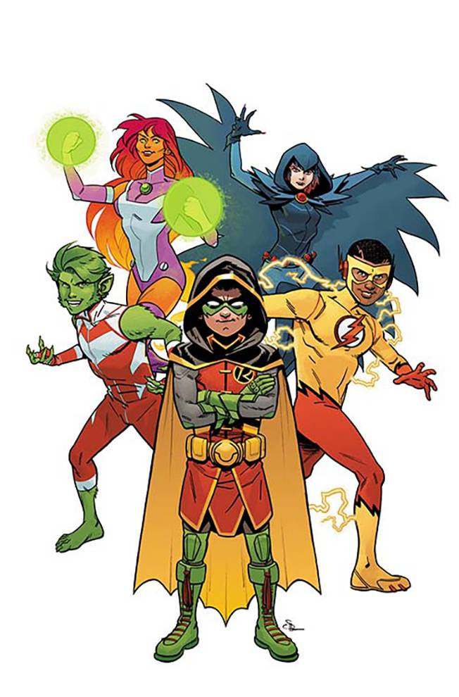 TEEN TITANS REBIRTH #1 VAR ED COVER