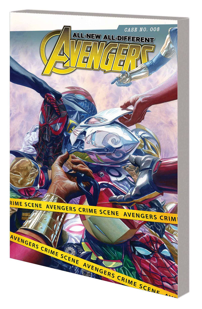 ALL NEW ALL DIFFERENT AVENGERS TP VOL 02 FAMILY BUSINESS COVER