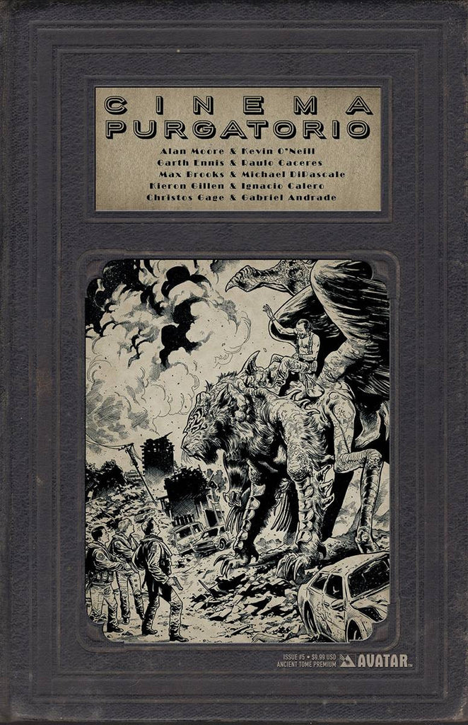 CINEMA PURGATORIO #5 ANCIENT TOME PREMIUM COVER (MR) COVER