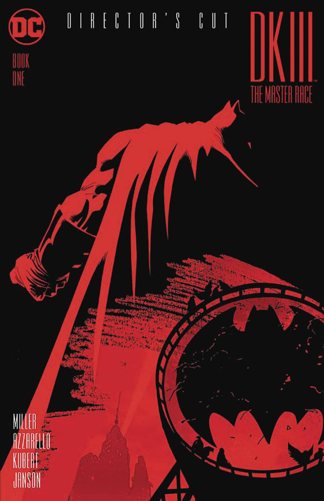 DARK KNIGHT III THE MASTER RACE #1 DIRECTORS CUT COVER