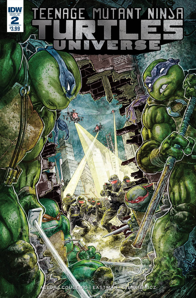 TMNT UNIVERSE #2 COVER