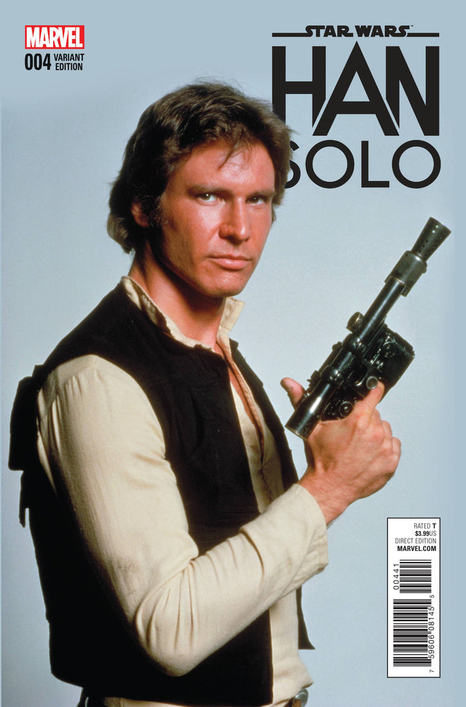 STAR WARS HAN SOLO #4 (OF 5) MOVIE VAR COVER