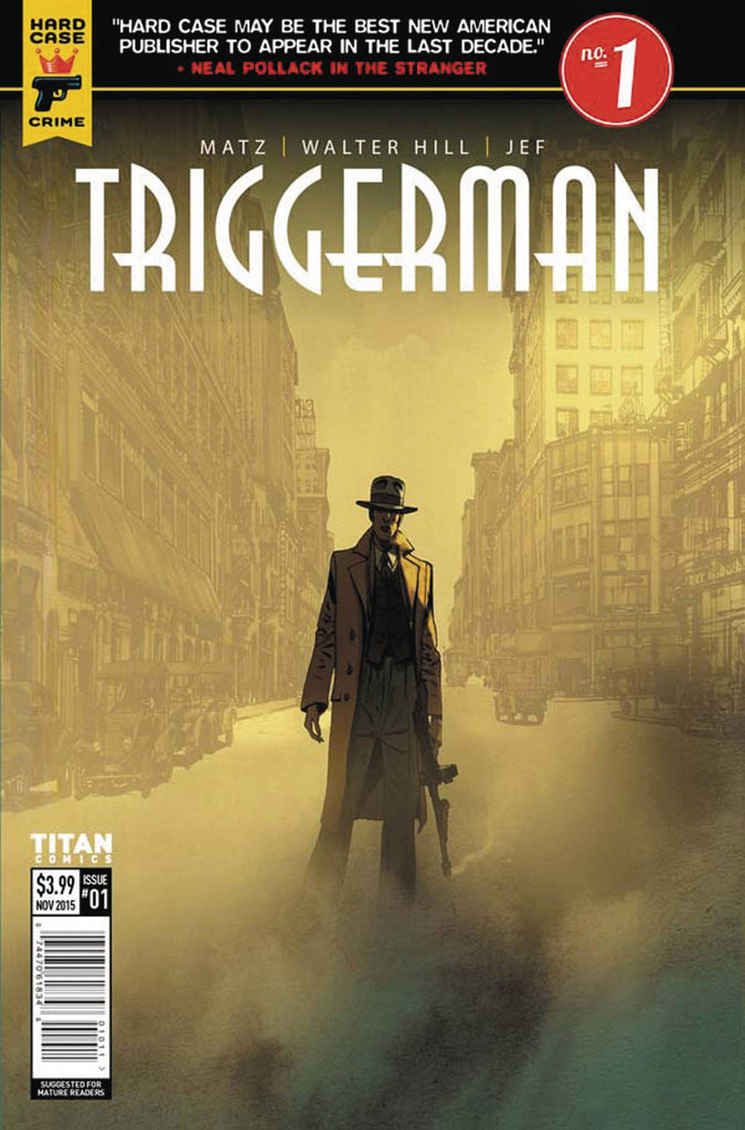HARD CASE CRIME TRIGGERMAN #1(OF 5) CVR A JEF (MR) COVER