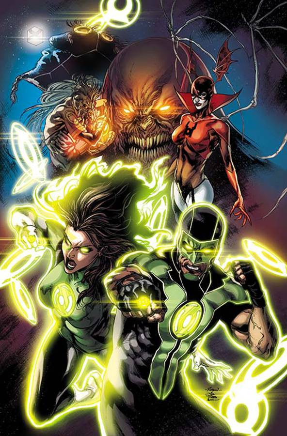 GREEN LANTERNS #1 2ND PTG COVER