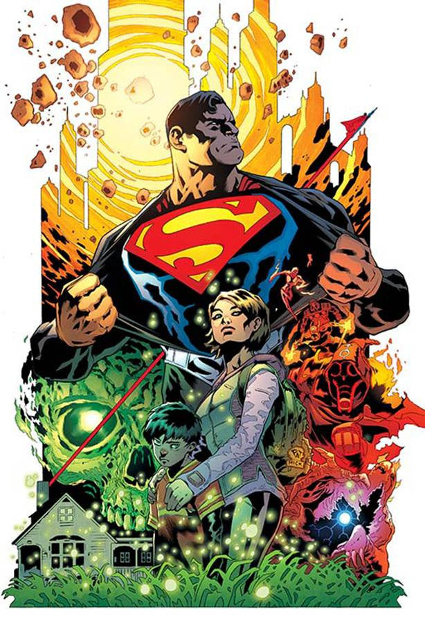 SUPERMAN #1 2ND PTG COVER