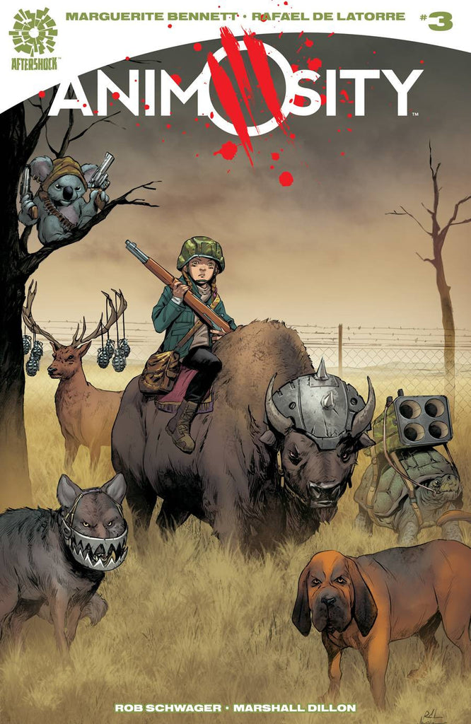 ANIMOSITY #3 COVER