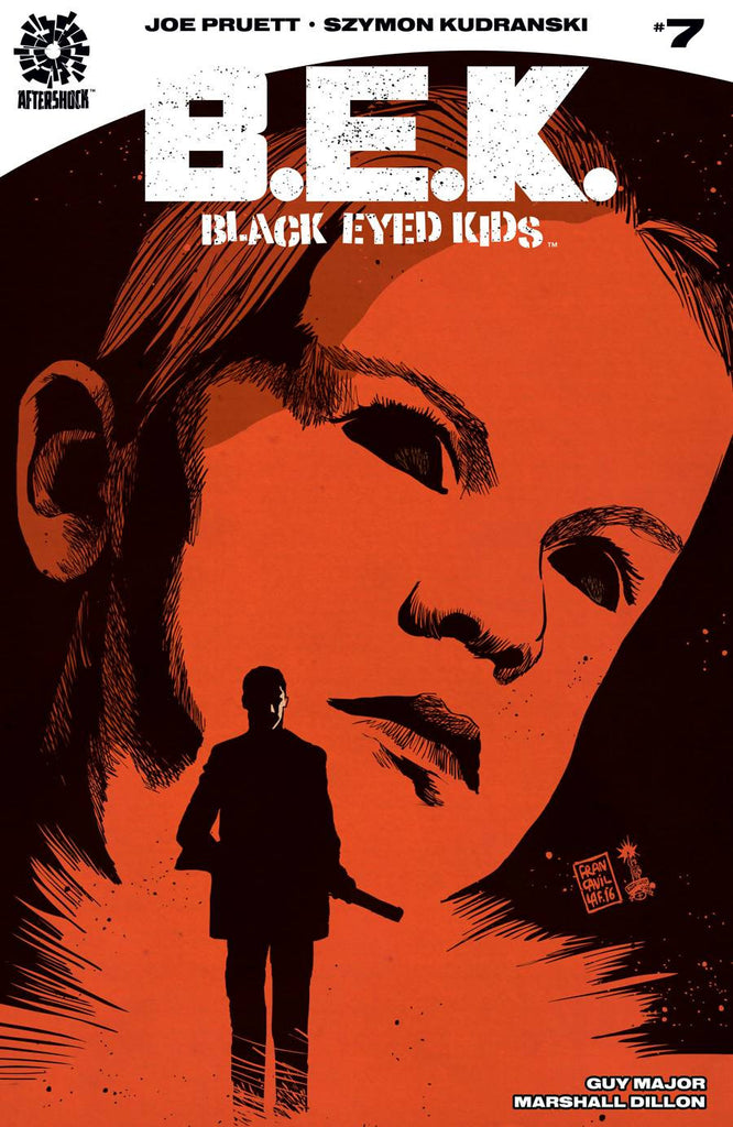 BLACK EYED KIDS #7 (MR) COVER