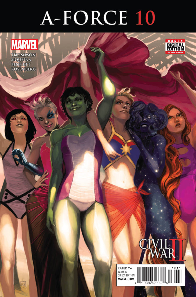 A-FORCE #10 CW2 COVER