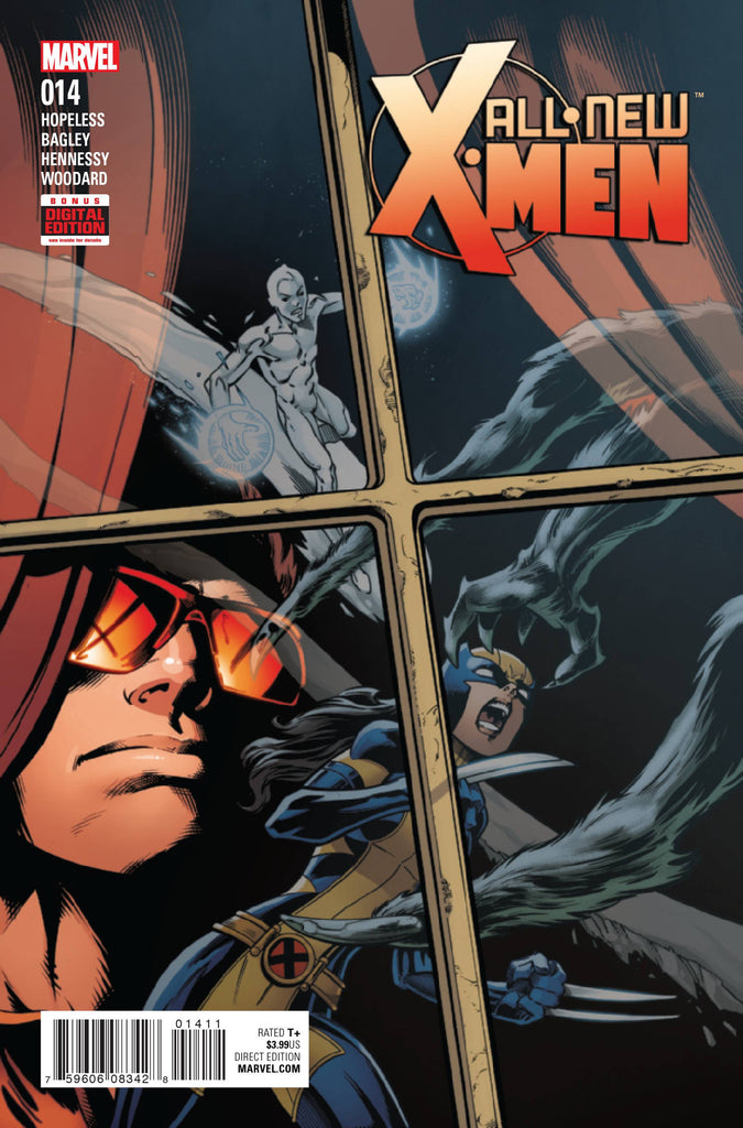 ALL NEW X-MEN #14 COVER