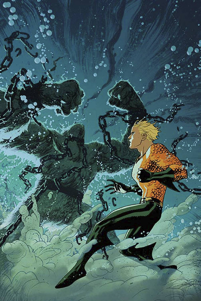 AQUAMAN #8 VAR ED COVER