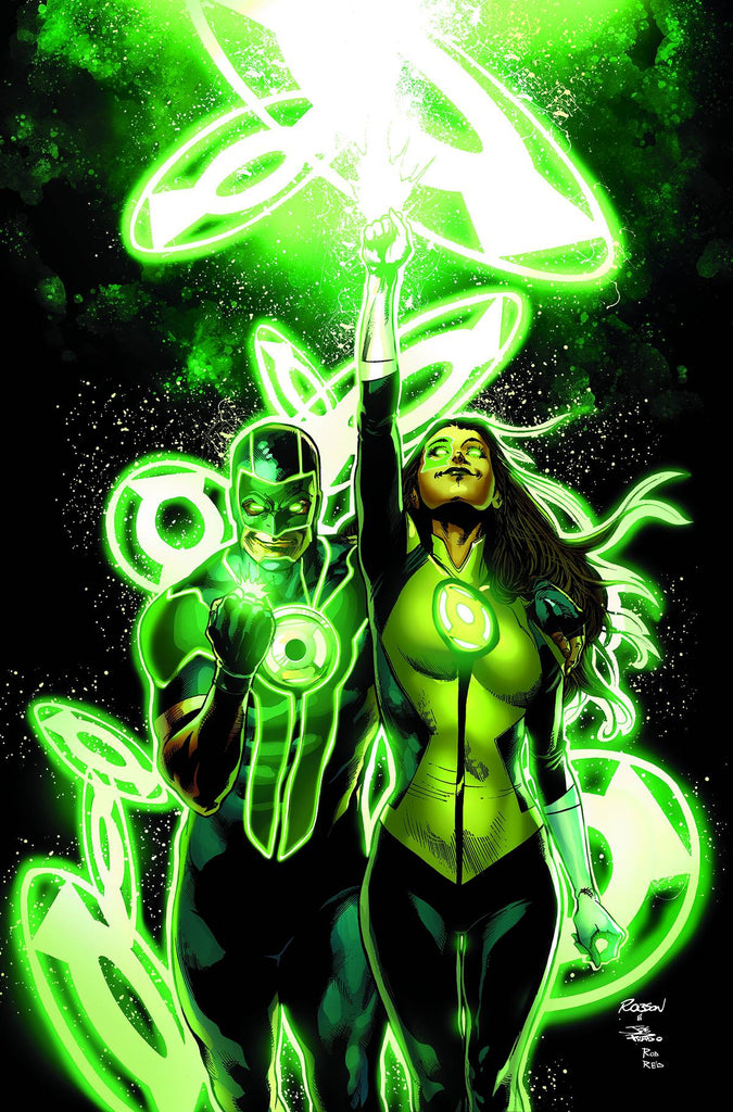 GREEN LANTERNS #8 COVER