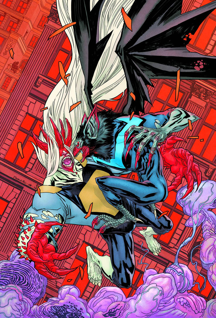 NIGHTWING #6 (MONSTER MEN) COVER
