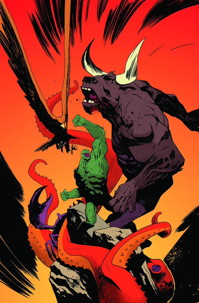 SUICIDE SQUAD MOST WANTED #3 (OF 6) EL DIABLO & KILLER CROC COVER