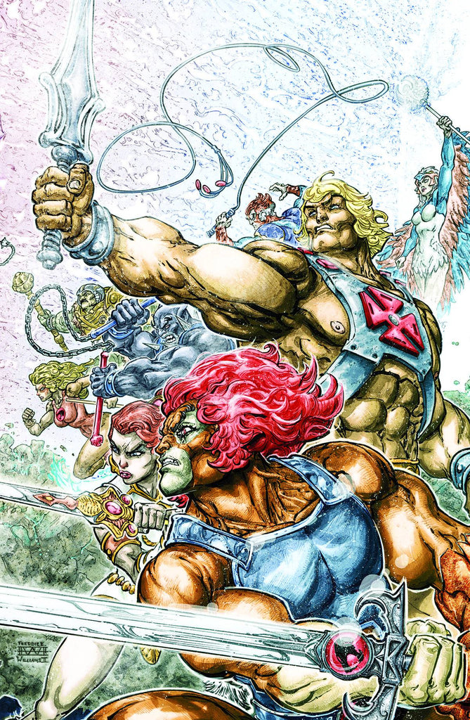 HE MAN THUNDERCATS #1 (OF 6) COVER