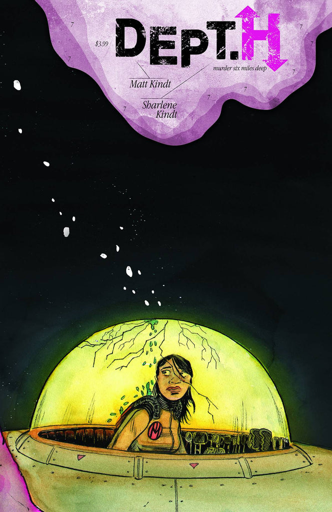 DEPT H #7 COVER