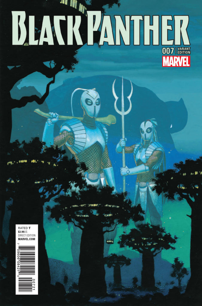NOW BLACK PANTHER #7 RIBIC CONNECTING C VAR COVER