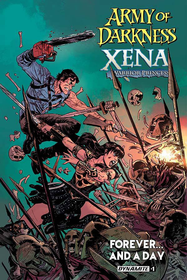 AOD XENA FOREVER AND A DAY #1(OF 6) CVR A BROWN COVER