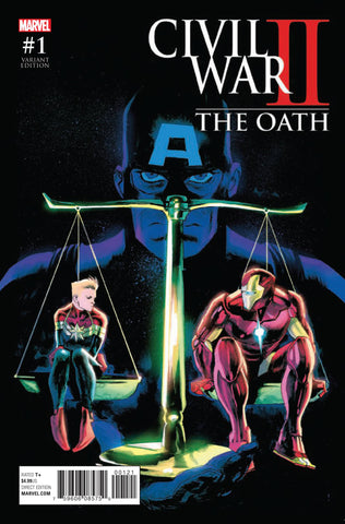 CIVIL WAR II OATH #1 ALBUQUERQUE VAR COVER