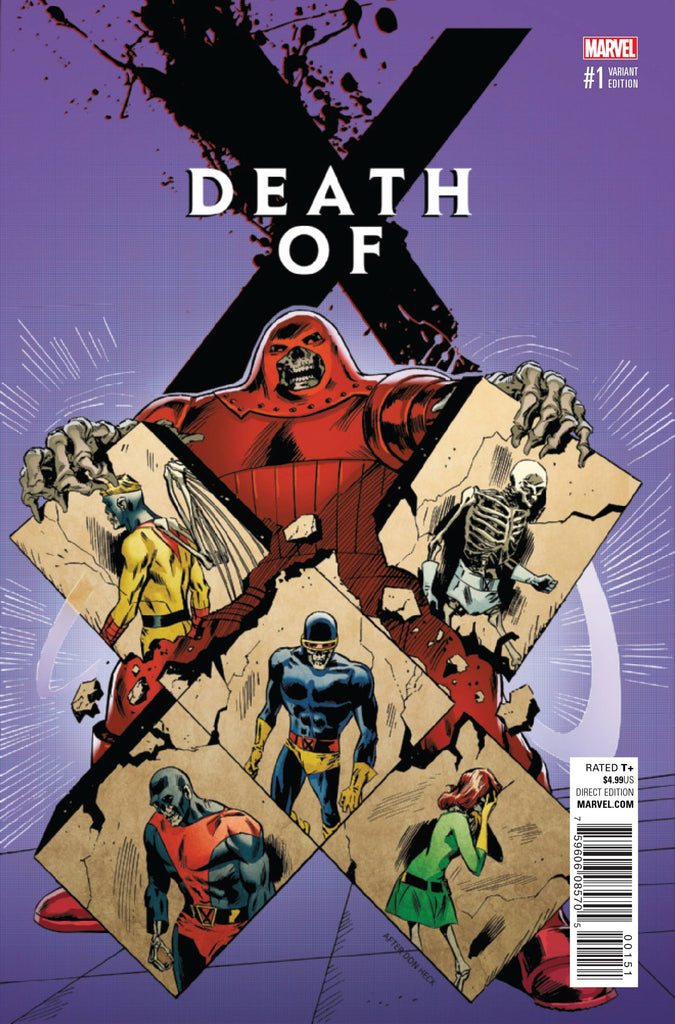DEATH OF X #1 (OF 4) GUICE CLASSIC VAR COVER