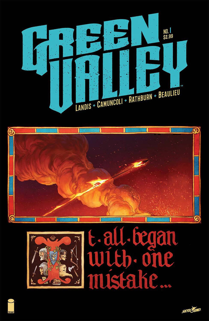 GREEN VALLEY #1 (OF 9) COVER