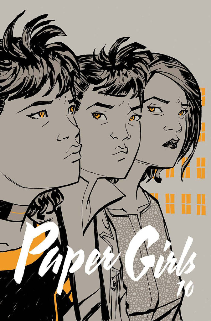 PAPER GIRLS #10 COVER