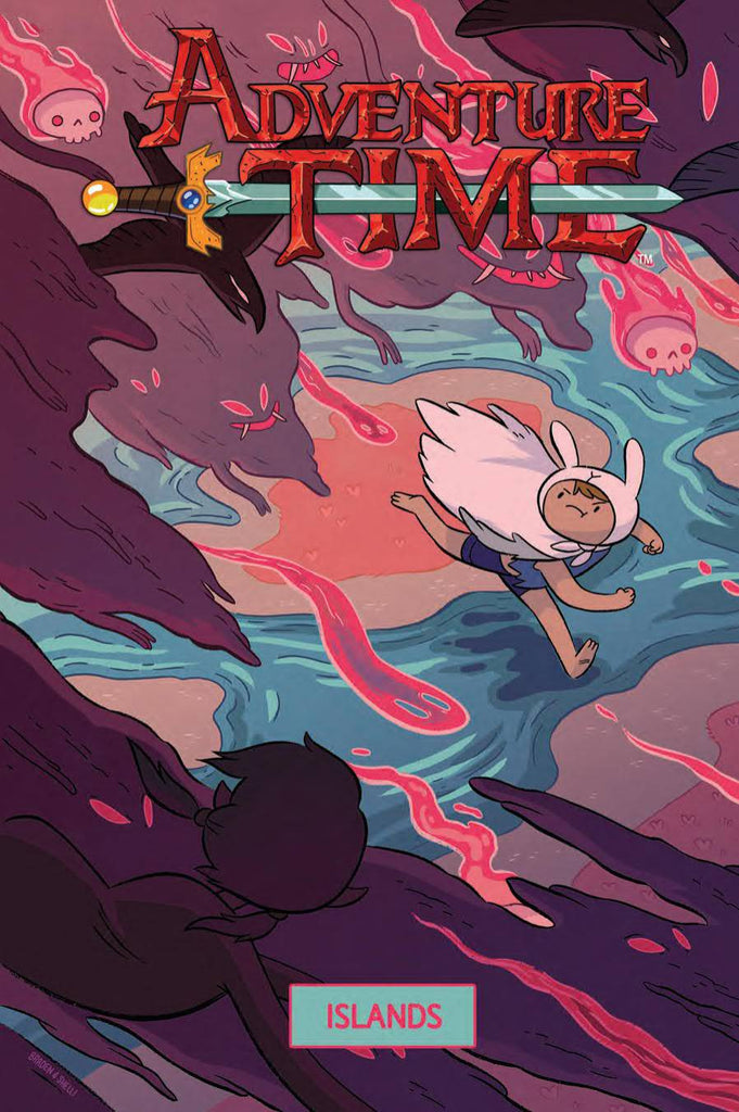 ADVENTURE TIME ORIGINAL GN ISLANDS COVER