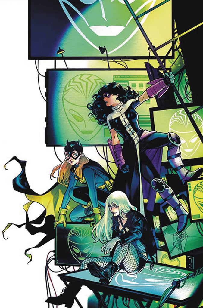 BATGIRL AND THE BIRDS OF PREY#4 VAR ED COVER