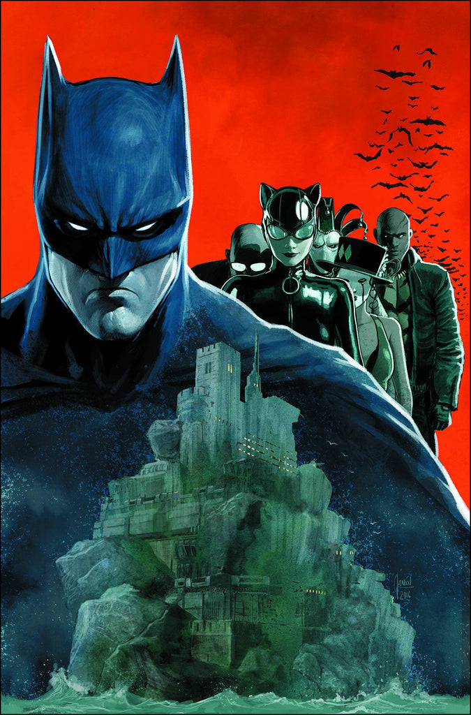 BATMAN #10 COVER