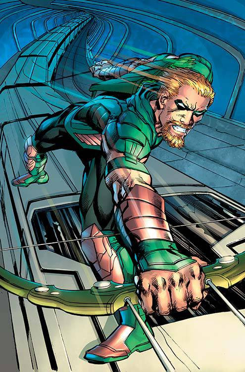 GREEN ARROW #10 VAR ED COVER